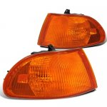 Honda Civic Sedan 1992-1995 Amber Corner Lights