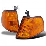 Honda Civic Hatchback 1990-1991 JDM Amber Corner Lights