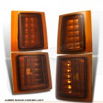 1994 GMC Yukon Amber Smoked Corner Lights