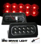 2000 Chevy S10 Black LED Third Brake Light
