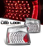 Dodge Charger 2006-2008 Clear LED Look Tail Lights