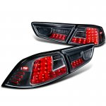 Mitsubishi Lancer 2008-2015 LED Tail Lights Black