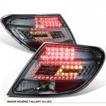 Mercedes Benz C Class 2008-2010 Smoked LED Tail Lights