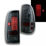 2007 Ford F350 Super Duty Smoked LED Tail Lights