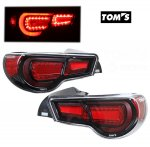 Scion FRS 2012-2014 Toms Black LED Tail Lights