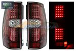 Chevy Tahoe 2007-2014 Depo Red LED Tail Lights