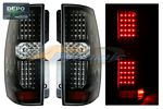2011 Chevy Suburban Depo Black LED Tail Lights
