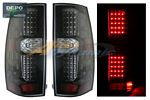 Chevy Tahoe 2007-2014 Depo Carbon Fiber LED Tail Lights