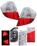 Honda Fit 2009-2010 Depo Red and Clear LED Tail Lights