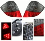 Honda Fit 2009-2010 Depo Red and Smoked LED Tail Lights