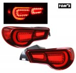 Scion FRS 2012-2014 Toms Red LED Tail Lights
