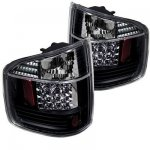 1998 Isuzu Hombre Black LED Tail Lights