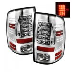 Dodge Ram 2009-2015 Chrome LED Tail Lights