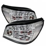 2007 BMW 5 Series E60 Clear LED Tail Lights