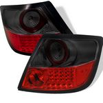 2008 Scion tC Red and Smoked LED Tail Lights