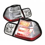 BMW E46 Sedan 3 Series 1999-2001 Clear LED Tail Lights