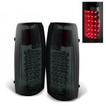 Chevy Suburban 1992-1999 LED Tail Lights Smoked