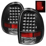 Plymouth Voyager 1996-2000 Black LED Tail Lights
