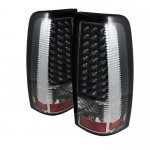 2005 GMC Sierra Black LED Tail Lights