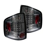 2000 Chevy S10 Smoked LED Tail Lights