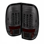 2003 Ford F450 Super Duty Smoked LED Tail Lights