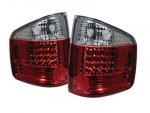 1998 Isuzu Hombre Red and Clear LED Tail Lights