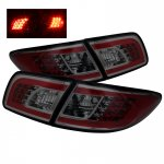 Mazda 6 Sedan 2003-2005 Smoked LED Tail Lights