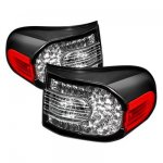 Toyota FJ Cruiser 2007-2014 Black LED Tail Lights
