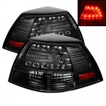 Pontiac G8 2008-2009 Black LED Tail Lights