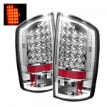 2009 Dodge Ram 2500 Clear LED Tail Lights