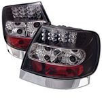 1996 Audi A4 Black LED Tail Lights
