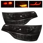 2009 Audi Q7 Smoked LED Tail Lights