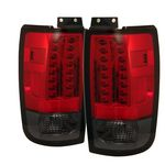 1999 Ford Expedition Red and Smoked LED Tail Lights