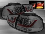 VW Golf 2010-2012 Smoked LED Tail Lights
