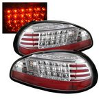 1998 Pontiac Grand Prix Clear LED Tail Lights
