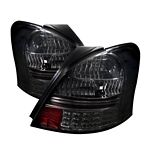 Toyota Yaris Coupe 2006-2008 Smoked LED Tail Lights