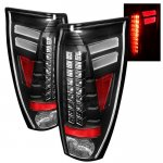 2005 Chevy Avalanche Black LED Tail Lights