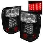 Ford Ranger 1993-1997 Black LED Tail Lights