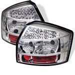 2004 Audi A4 Clear LED Tail Lights