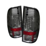2008 Ford F250 Super Duty Smoked LED Tail Lights