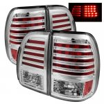 Lexus LX470 1998-2002 Clear LED Tail Lights