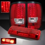 2007 Ford F150 LED Tail Lights and LED Third Brake Light