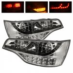 2009 Audi Q7 Clear LED Tail Lights