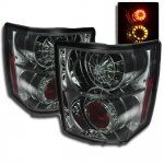 Land Rover Range Rover HSE 2003-2005 Smoked LED Tail Lights