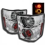 Land Rover Range Rover HSE 2003-2005 Chrome LED Tail Lights