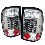 1997 Ford Ranger Clear LED Tail Lights