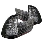 BMW E53 X5 2000 Black LED Tail Lights