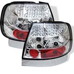 2001 Audi A4 Clear LED Tail Lights