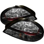 Pontiac Grand AM 1999-2005 Black LED Tail Lights