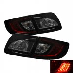 Mazda 3 Sedan 2003-2008 Red and Smoked LED Tail Lights